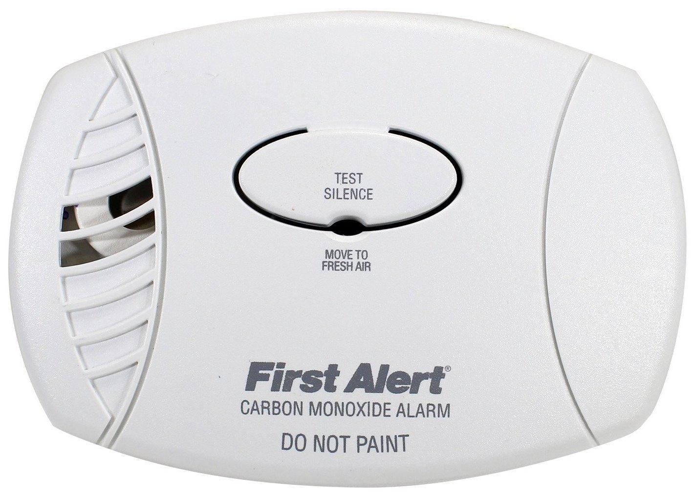 First Alert Carbon Monoxide Alarm 9 V Green Boxed