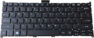New Laptop Replacement Keyboard for Acer ultrabook Aspire One 725 756 AO725 AO756 s5 s5-391 S3 S3-951 MS2346 Series US Layout V128230AS1 Black S3-391