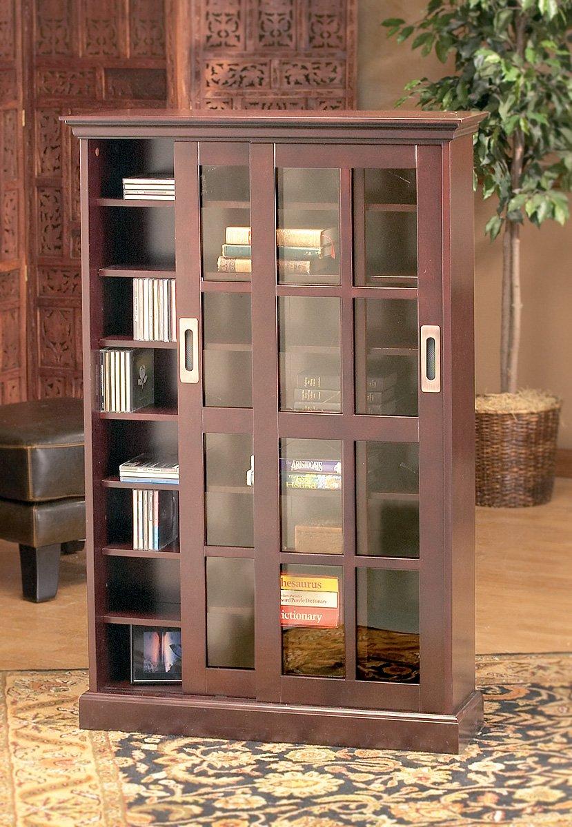 Amazon Sliding Door Media Cabinet