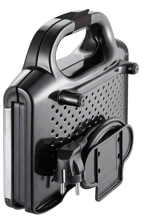 Moulinex Ultracompact - Sandwichera, 700 W, acero inoxidable, negro/plata: Amazon.es: Hogar