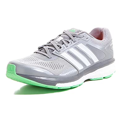 5547e2a1cb8a7 adidas Supernova Glide Boost 7 Chill Men´s Running Shoes - grey   white    green