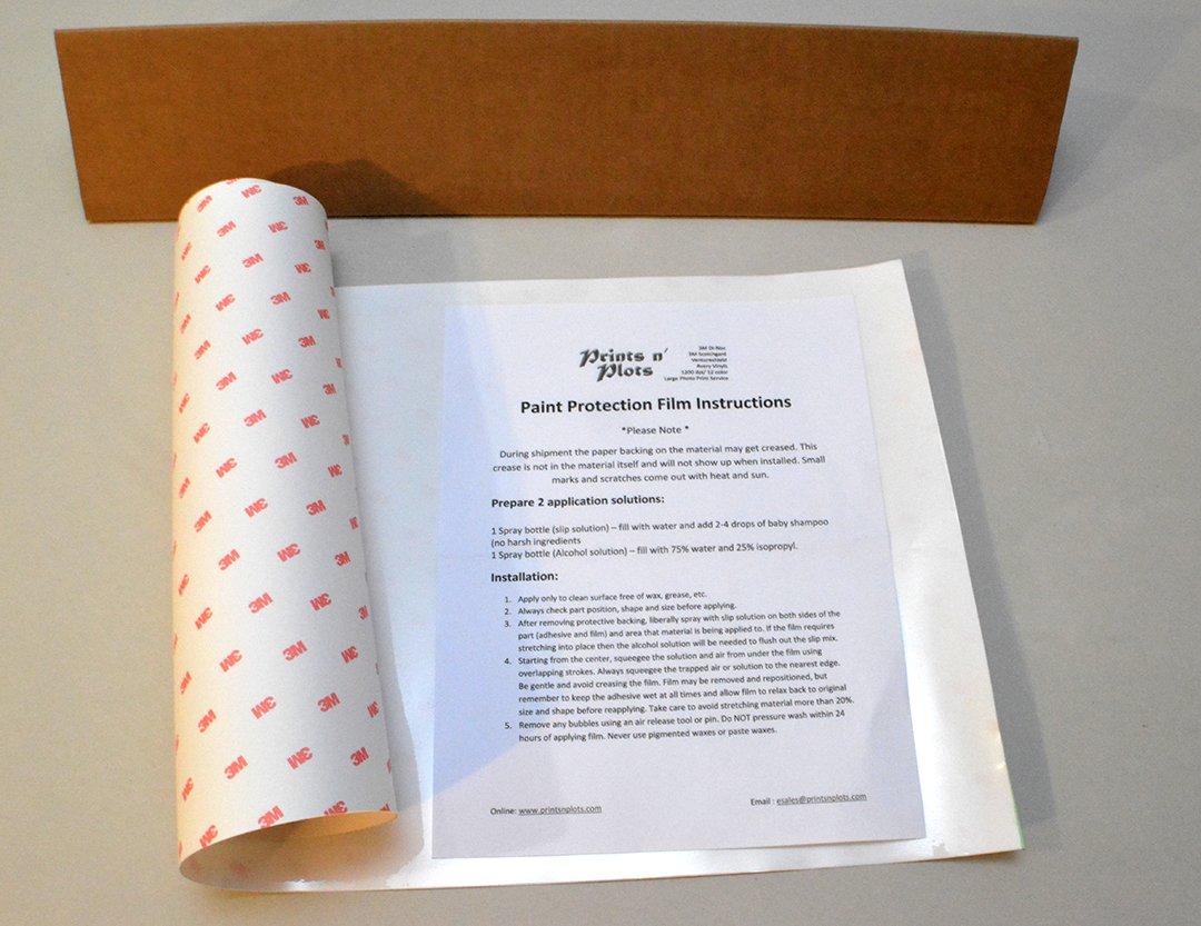 Printsnplots 3m Scotchgard Paint Protection Film 18 X 36 Bulk Piece