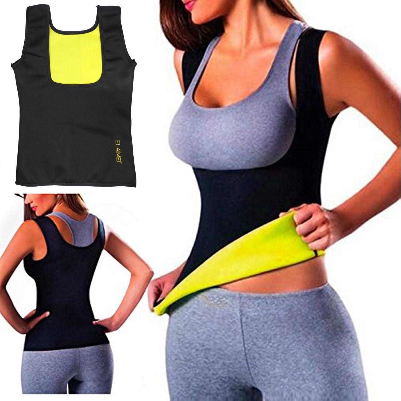Hot Sweat Sauna Body Shaper Women Slimming Vest Thermo Neoprene Waist Trainer US