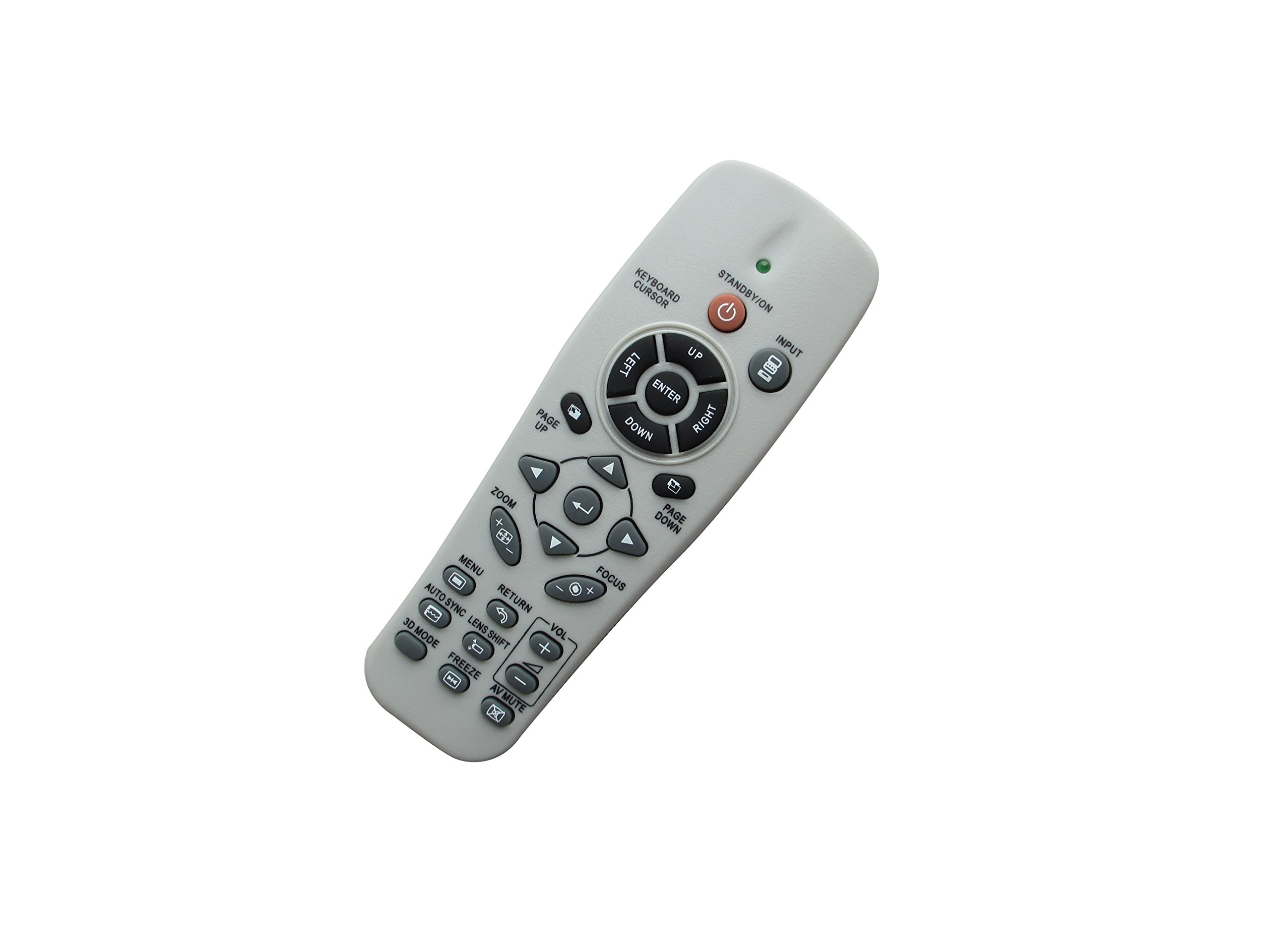 Universal DLP Projector Replacement Remote Control For Vivitek D945VX D940DX D940VX D795ST D-930TX D735MX D930TX D326WX D740MX D326MX D-832MX D732MX D-835 D-837 D-851 D735VX D837 D871ST D516 D552 D555 by HCDZ