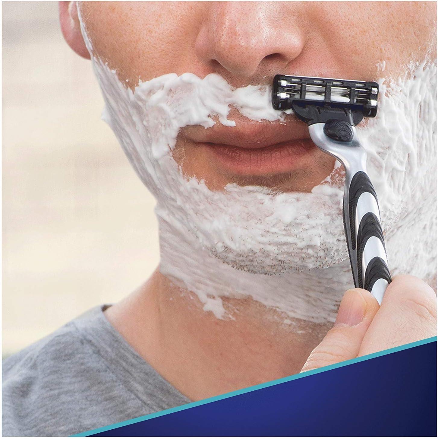 Gillette Mach3 Cuchillas de Afeitar para Hombre - 20 unidades ...