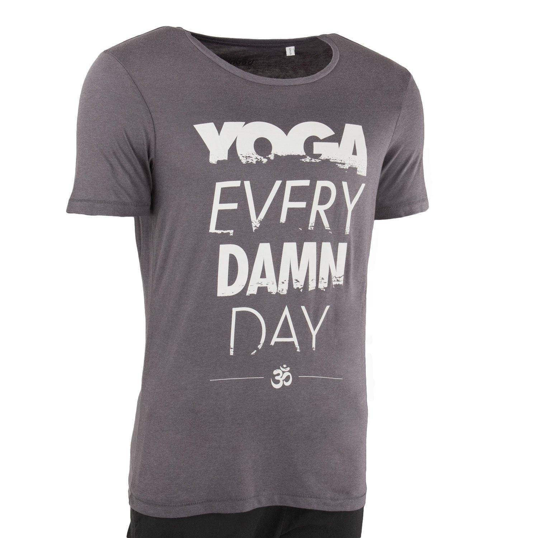 Bodhi Yoga Camiseta Hombres Yoga Every Damn Day, 100% de ...