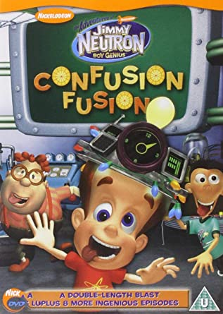 cb817bed31c Jimmy Neutron - Boy Genius  Confusion Fusion  DVD   Amazon.co.uk ...