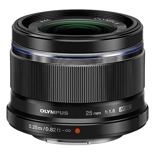 Olympus 25mm 1:1.8 M.Zuiko Digital Lens - Black