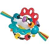 Playgro-4082426 Pelota de Actividades para bebé Color Azul, Rojo, Blanco, Verde (4082426
