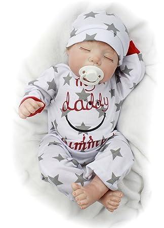 Amazon.es: O-YLS Cierra Ojos Niño Chupete Baby Dolls 22 ...