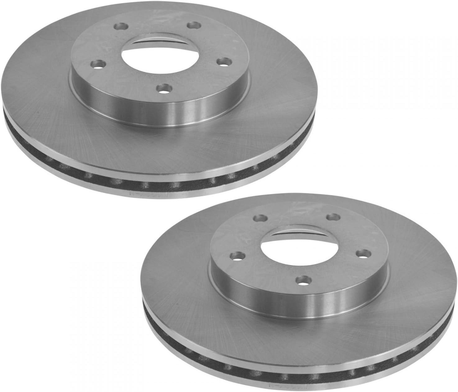 Front Disc Rotors /& Ceramic Brake Pads For Nissan Maxima Infiniti I30