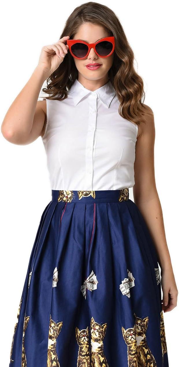 aaa9adc3a66 Plus Size Midnight Blue High Waist Sailor Pants. Vintage Style Black    Ivory Collar Short Sleeve Sweater Knit Top · Vintage Style Black   Ivory  Collar Short ...
