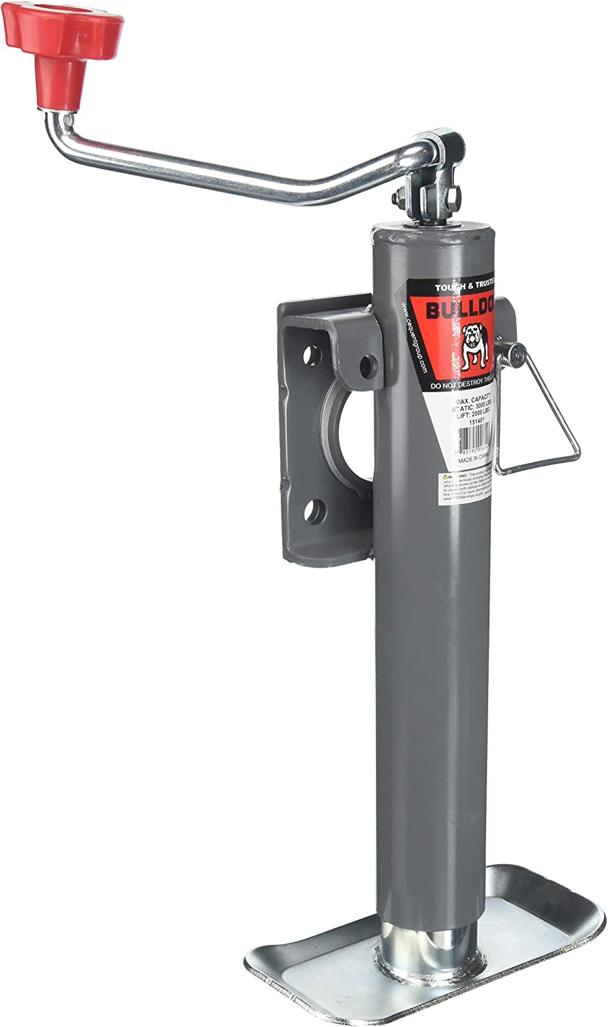 Bulldog 151401 Weld-On Swivel Jack