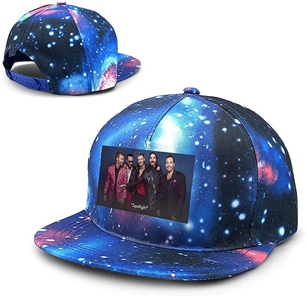 Unisex Backstreet Boys Galaxy Hip Hop Snapback Sombrero de ala ...