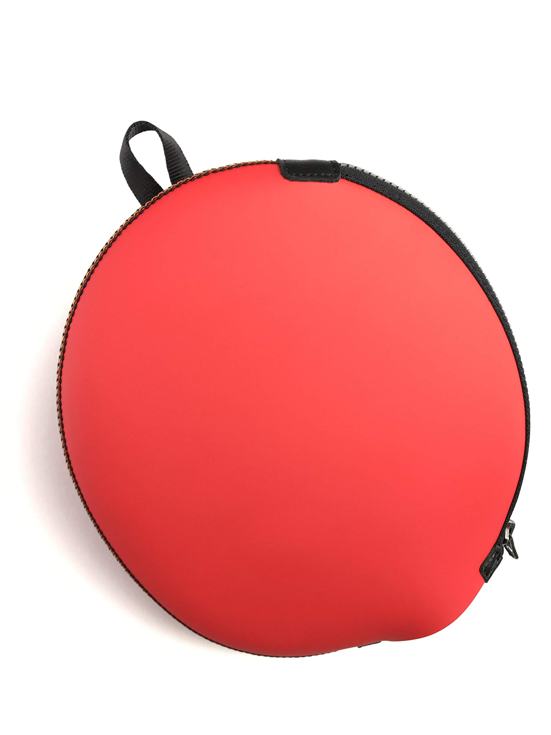 ONEJOY Ping Pong,Table Tennis Racquet Bag,Sleeves with Zipper AJ60,Loop to Hook,19cm x 17cm, for 1 Racquet/Racket/Paddle.