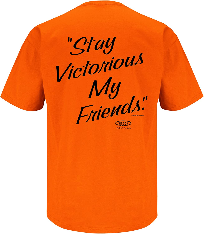 Sm-5X Orange T-Shirt Anti-Steelers I Dont Often Hate Smack Apparel Cincinnati Football Fans Stay Victorious