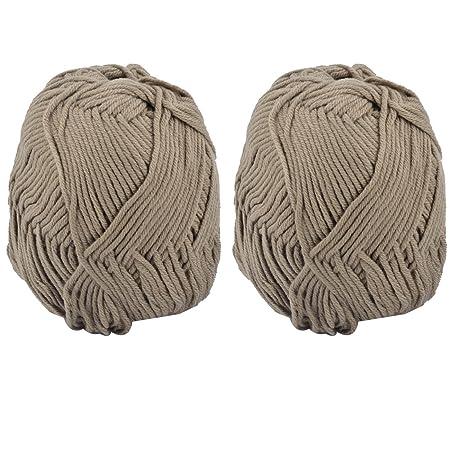 Sourcingmap 2pcs Diy Handgemachte Socken Häkeln Weben Stricken Garn