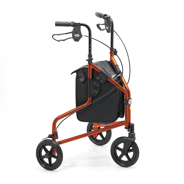 Days 240L - Andador para mayores con tres ruedas, plegable, de ...