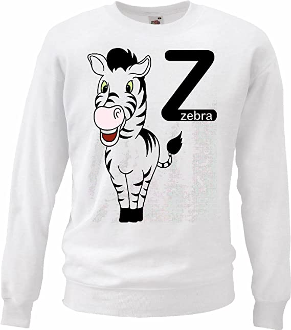 Sudaderas Suéter Z AS Zebra Zebra Feliz Grevyzebra Cebra de montaña ESTEPA Zebra Caballo Salvaje Caballo en Blanco: Amazon.es: Ropa y accesorios