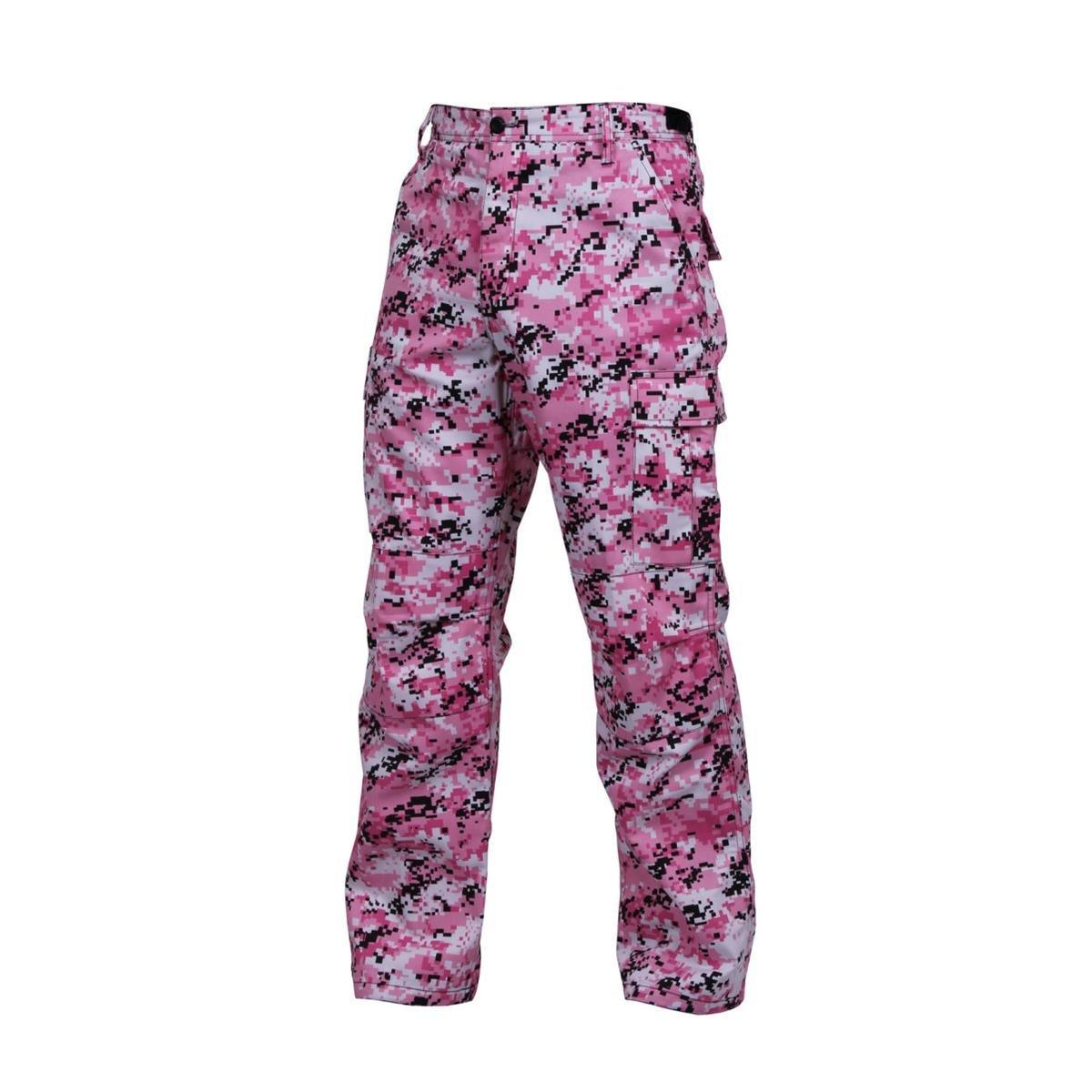 Rothco Bdu Pant, Pink Digital Camo, X-Large 613902996090