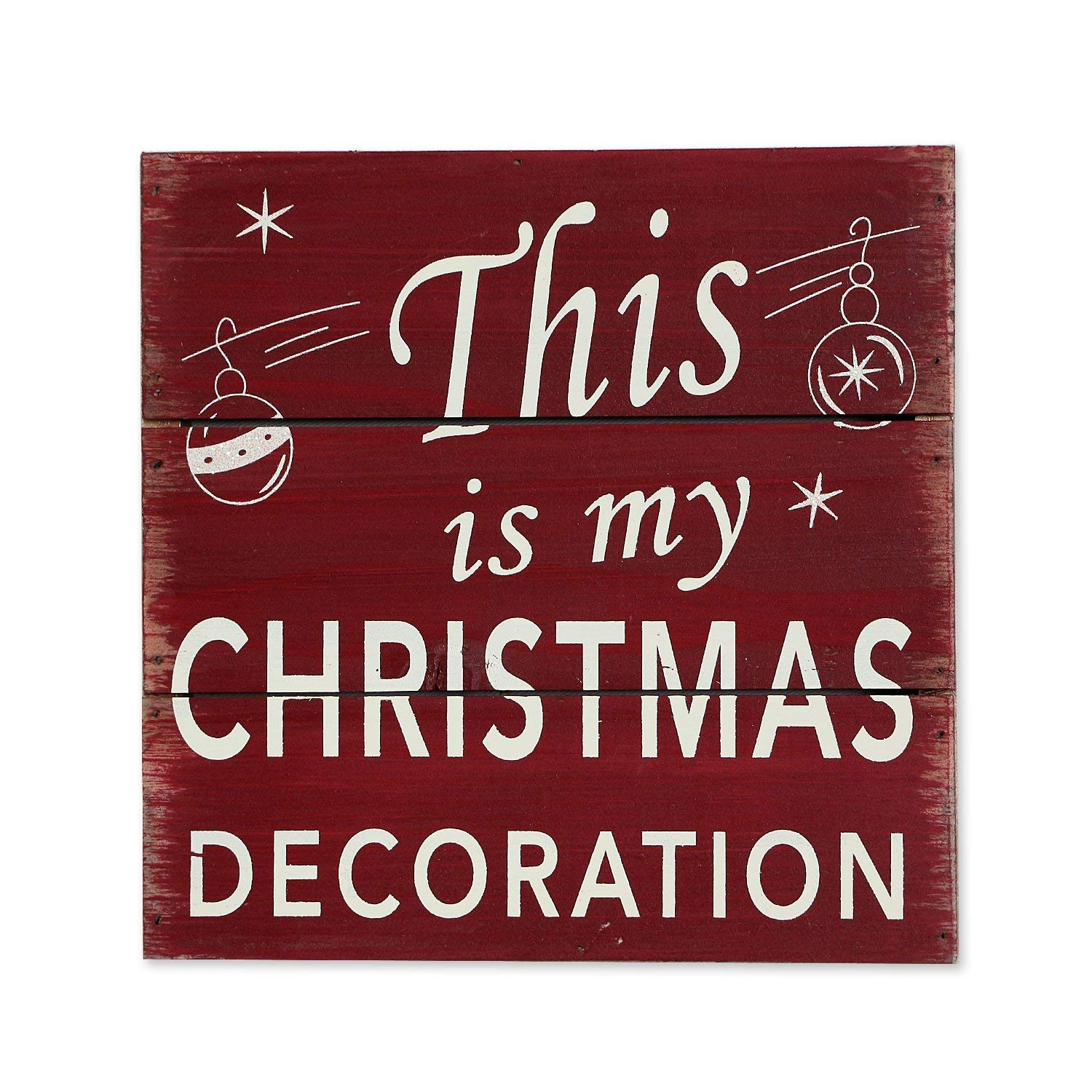 4 Home Accent This is My Christmas Decoration Wood Holiday Wall Art Decor Sign Plaque Age Print Wooden Plaque Handmade Wall Art Red