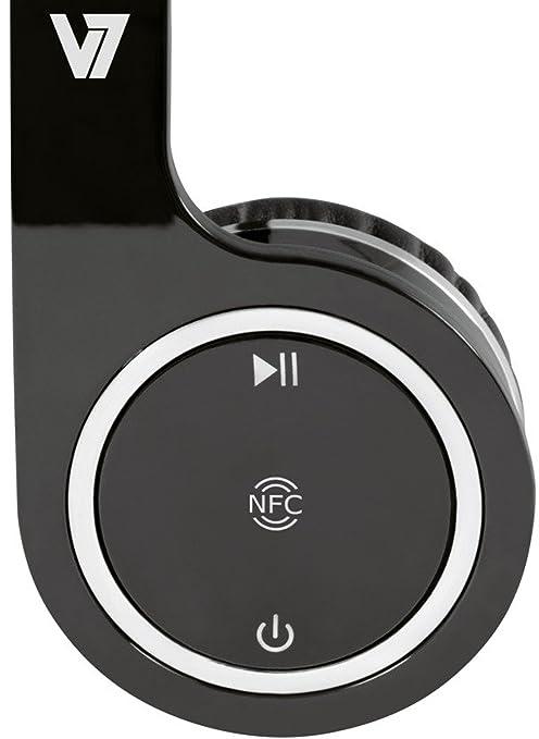 V7 HS6000-BT-BLK-9EC - Auriculares de diadema cerrados, negro: Amazon.es: Electrónica