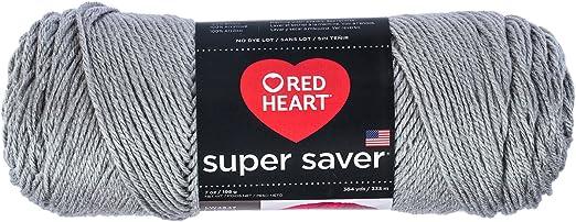 3Pk Coats Yarn E300-3945 Red Heart Super Saver Yarn-Blue Suede