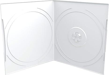 MediaRange box10 de T Funda vacía para DVD, 7 mm Transparente: Amazon.es: Informática