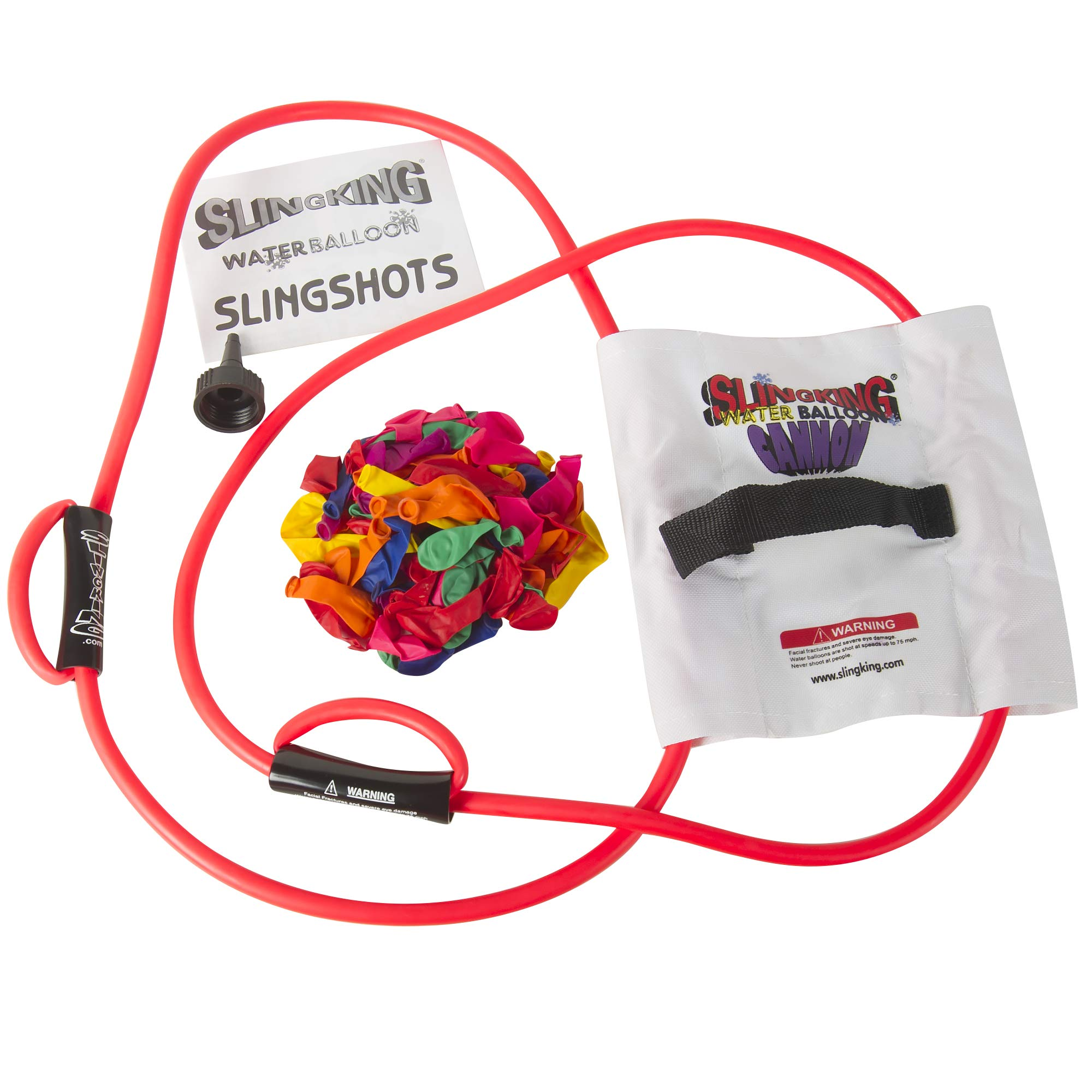 200-Yard Water Balloon Cannon Kit (colors may vary)