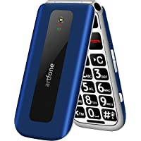 artfone Teléfono Móvil para Mayores, Senior Móviles de Teclas Grandes, SOS Botón, Pantalla de 2,4 Pulgadas, 2G gsm…
