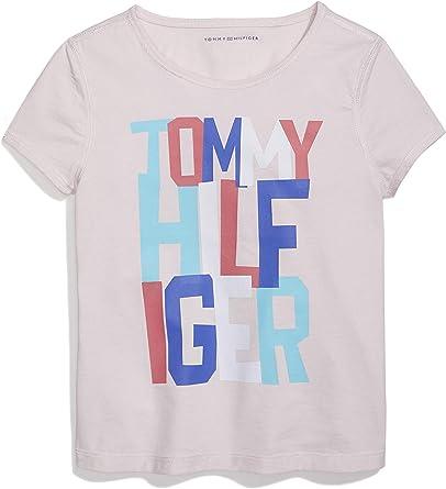 Amazon Com Tommy Hilfiger Girls Adaptive Sensory Tagless T Shirt Clothing