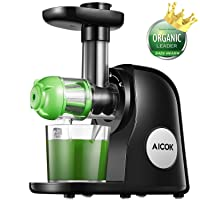 Aicok Juicer Masticating Slow Juicer Extractor