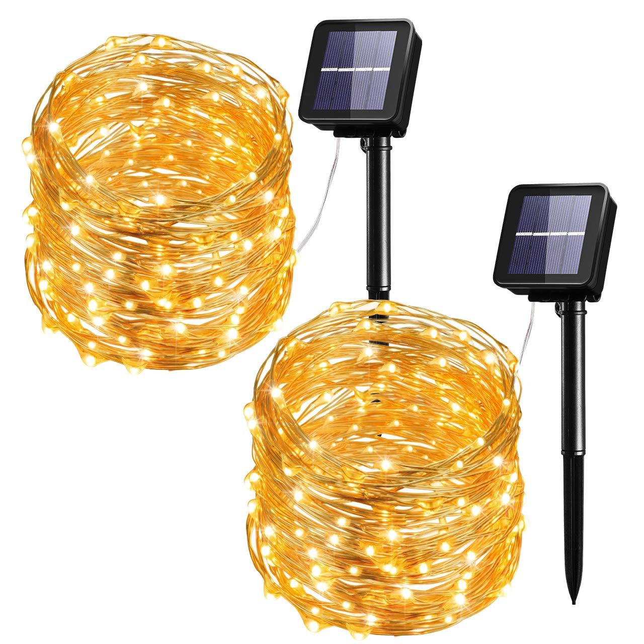 100 LED Outdoor String Lights