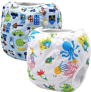 Storeofbaby Pañales de tela de pañales para bebé reutilizables ajustables por 0-36 meses: Amazon.es: Ropa y accesorios
