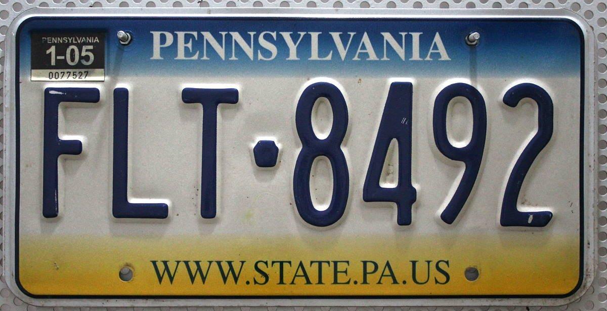 USA Schild ~ US Kennzeichen License Plate: Amazon.de: Auto