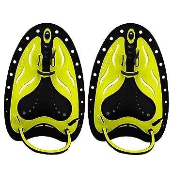 BONUS ET SALVUS TIBI (BEST) Bestfire - Palas de Entrenamiento para natación y natación, para Adultos y niños, Amarillo, S/M-Kids: Amazon.es: Deportes y aire ...