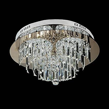 Saint Mossi® Lujo Moderno Gran Cristal Transparente Cristal ...
