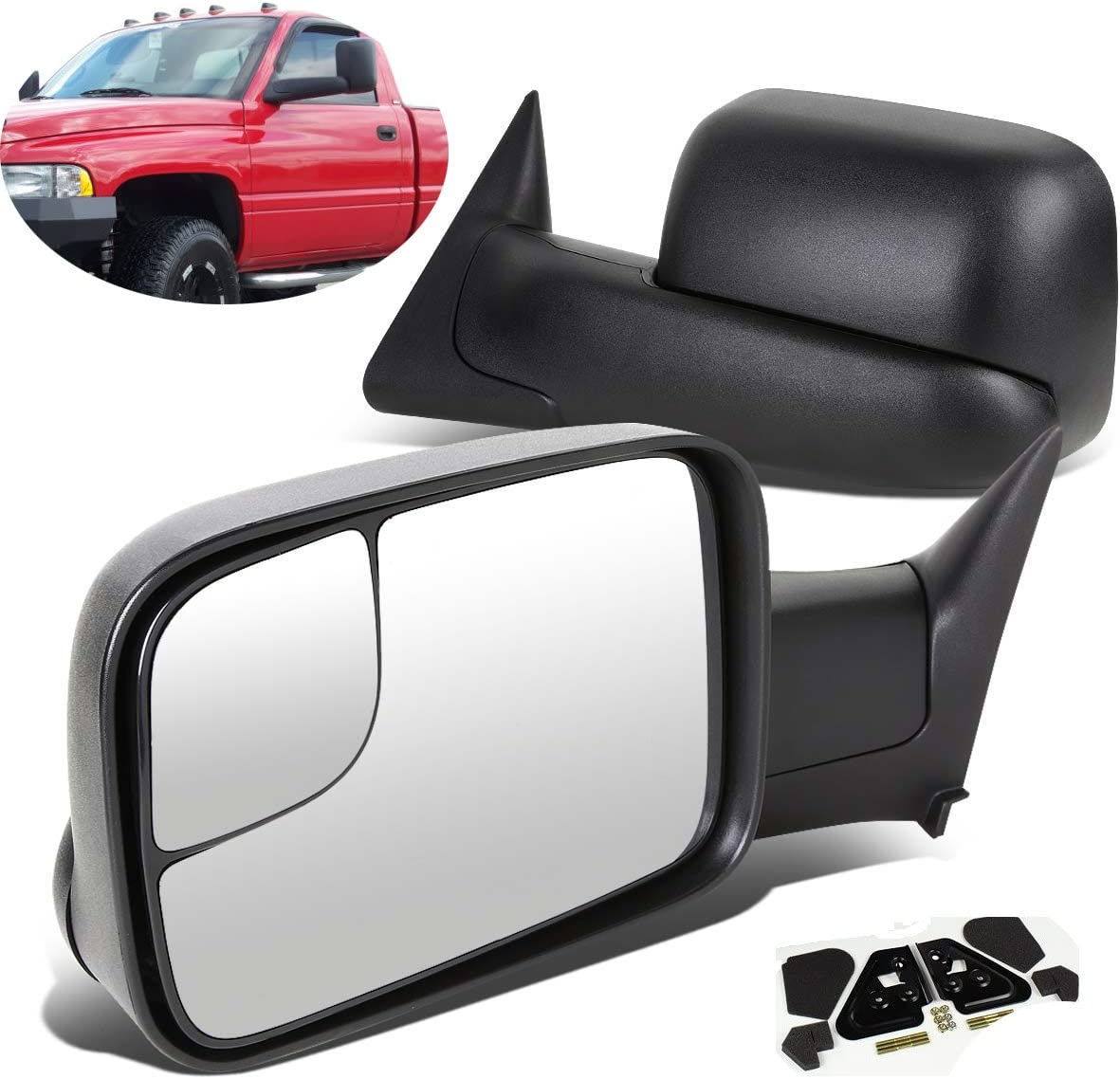 Automotive ECCPP Towing Mirror Replacement fit Dodge 94-01 Ram ...