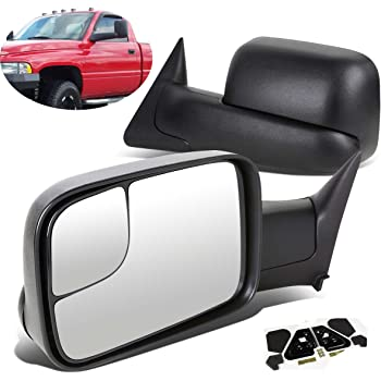 Amazon Com Eccpp Towing Mirrors Dodge Ram Tow Mirrors