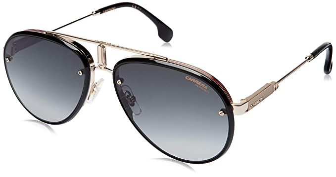 Carrera CARRERA GLORY GOLD BLACK/GREY SHADED 58/17/145 unisex Sunglasses