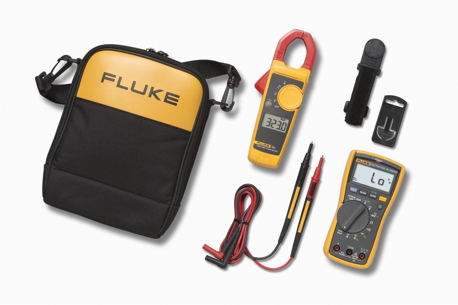 Fluke 117/323 KIT Multimeter and Clamp Meter Combo Kit [Fluke 117 Multimeter / Fluke 323 Clamp Combo Kit]
