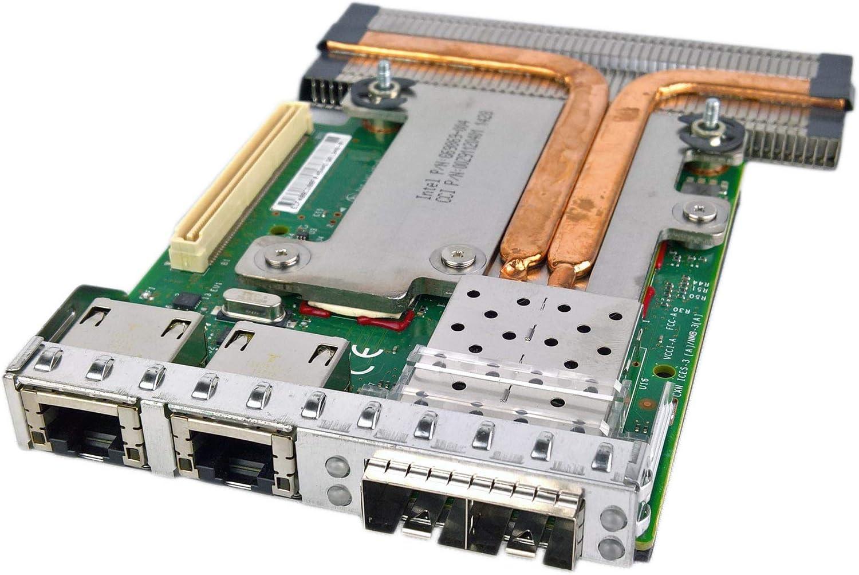 C63DV - NIC Intel X520/i350 2-Port SFP+; 2xRJ45 10GbE; 1000BASE-T Ethernet Daughter Card PowerEdge R720