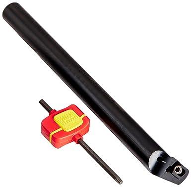 CCMT 432 Insert Size Screw Clamp Steel Sandvik Coromant A24T-SCLCL 4 Turning Insert Holder 1-1//2 Shank Diameter Round Shank 12 Length x 0.89 Width Left Hand Internal