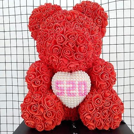SBRTL Rose Bear Día De San Valentín Navidad Cumpleaños ...
