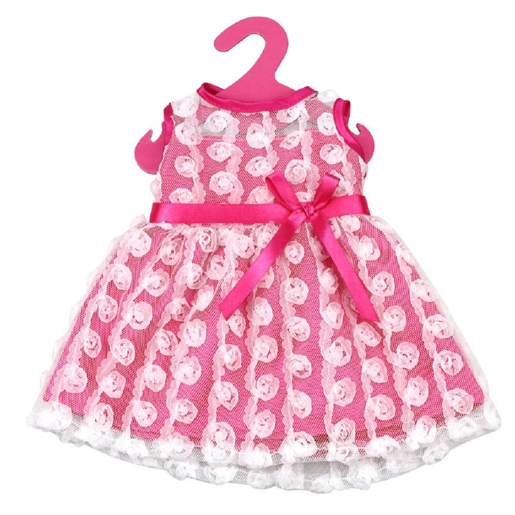 Shero 12-16 Inches Baby Dolls Dress Flower Dress with Shoes