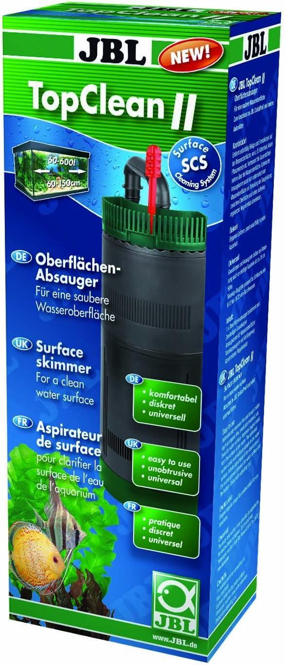 JBL TopClean II, Skimmer de Superficie para acuarios de Agua Dulce y Salada