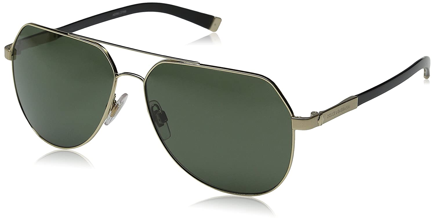 2e5e893aee79 DOLCE   GABBANA Men s 2133K 0DG2133K 488 58 60 Rectangular Polarized  Sunglasses 60