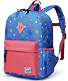 Backpack for Girls,Vaschy Preschool Toddler Rucksack Little Kid Small Backpacks for Preschoolers Children with Chest Strap Cute Fruits