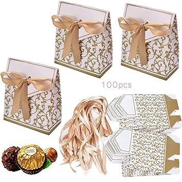 6x Geschenkbox Punkte Gastgeschenk Geburtstag Hochzeit Geschenkschachtel Tasche