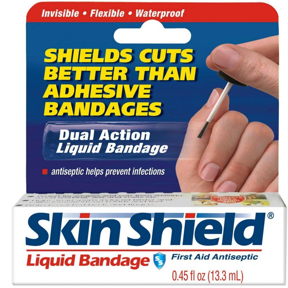 Skin Shield Liquid Bandage.45 oz (Pack of 6)